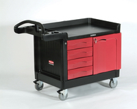 View: Rubbermaid TradeMaster 4533-88 4-Drawer and Cabinet, Small